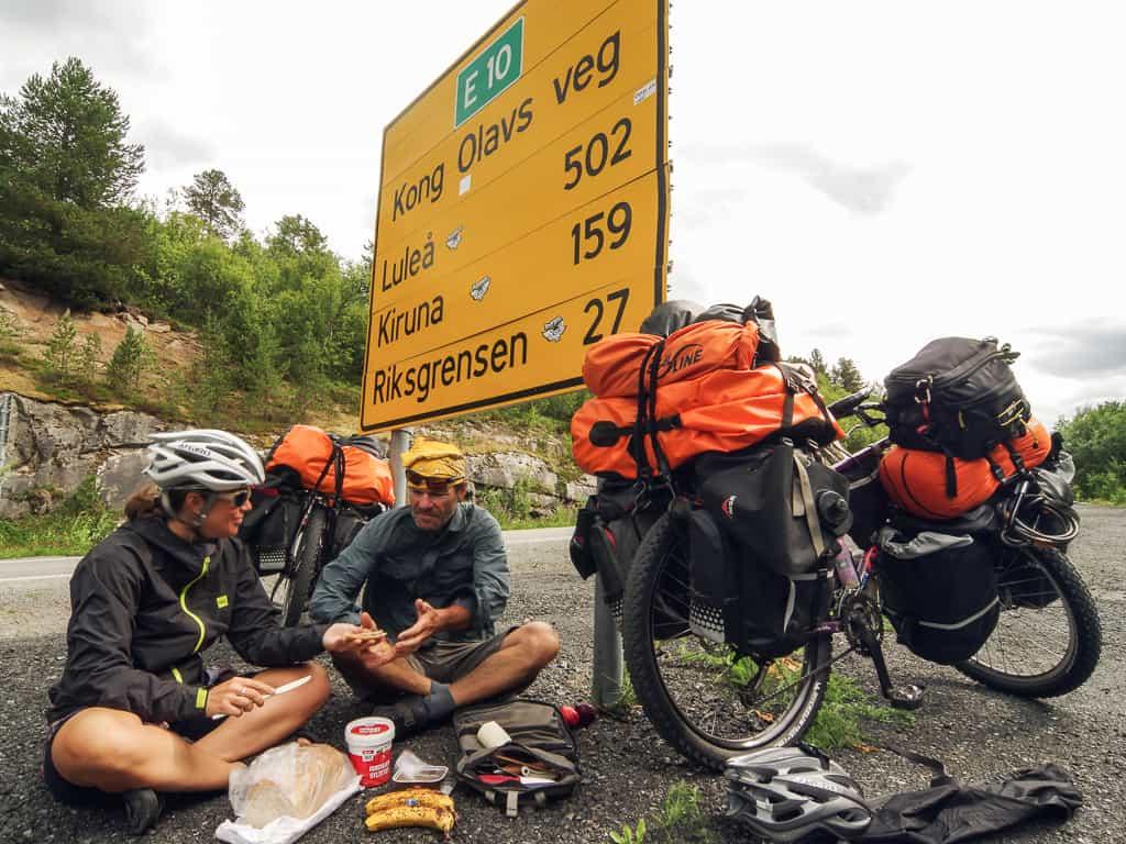 Pierre Bouchard et Janick Lemieux, nouvellement ambassadeurs Panorama Cycles, en voyage à vélos