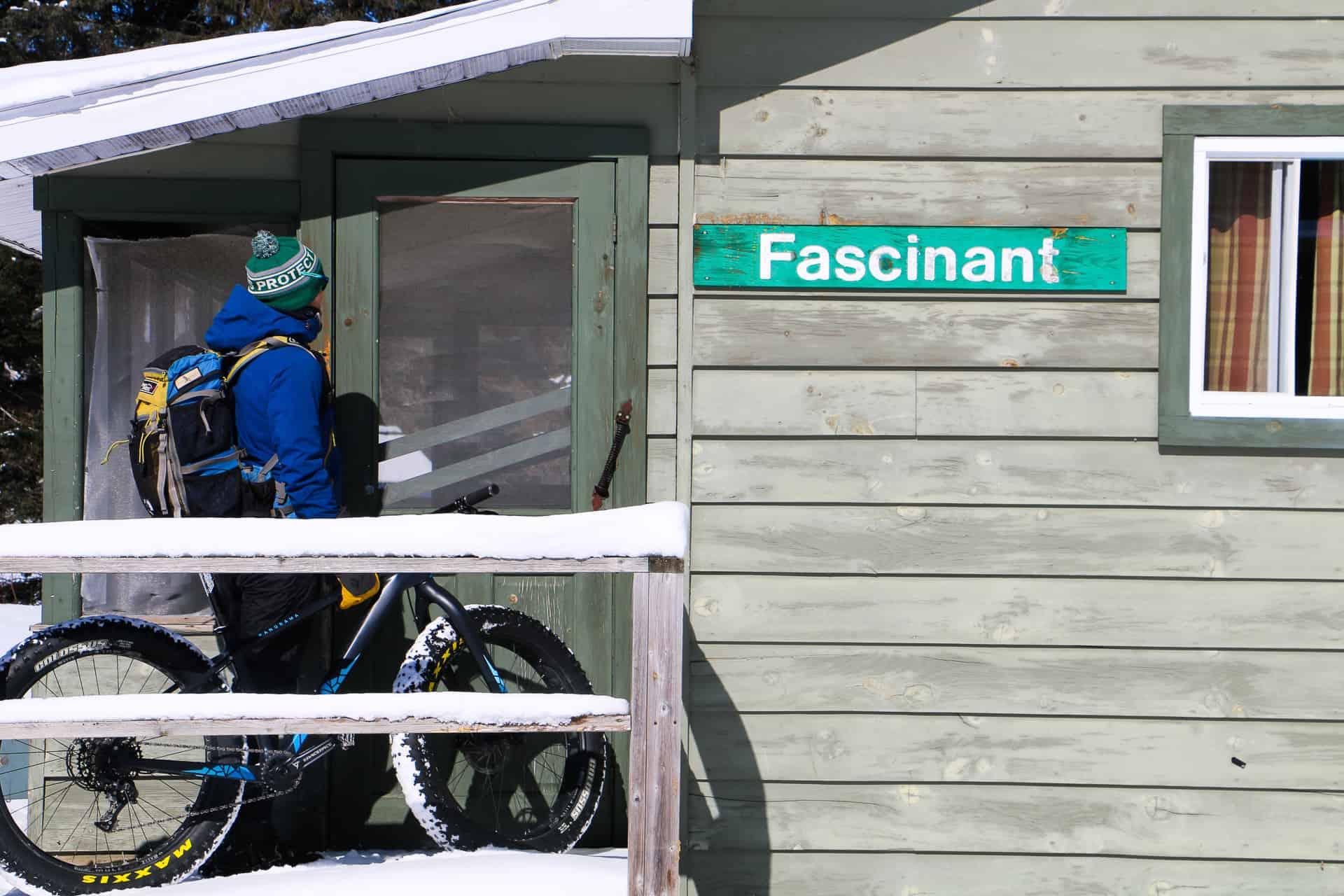 fatbike au parc papineau labelle avec panorama cycles
