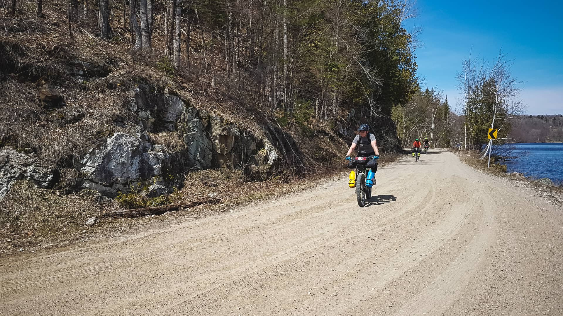 Bikepacking Calabogie area Ontario with Panorama cycles