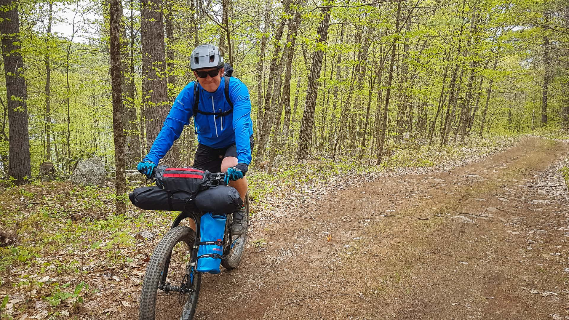 Bikepacking Calabogie area Ontario with Panorama cycles