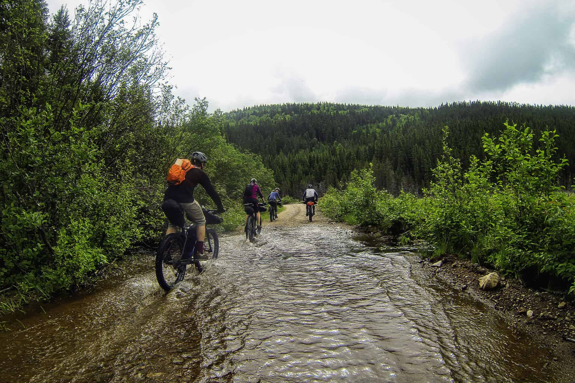 Bikpacking trip with Panorama on the reserve faunique des Laurentides