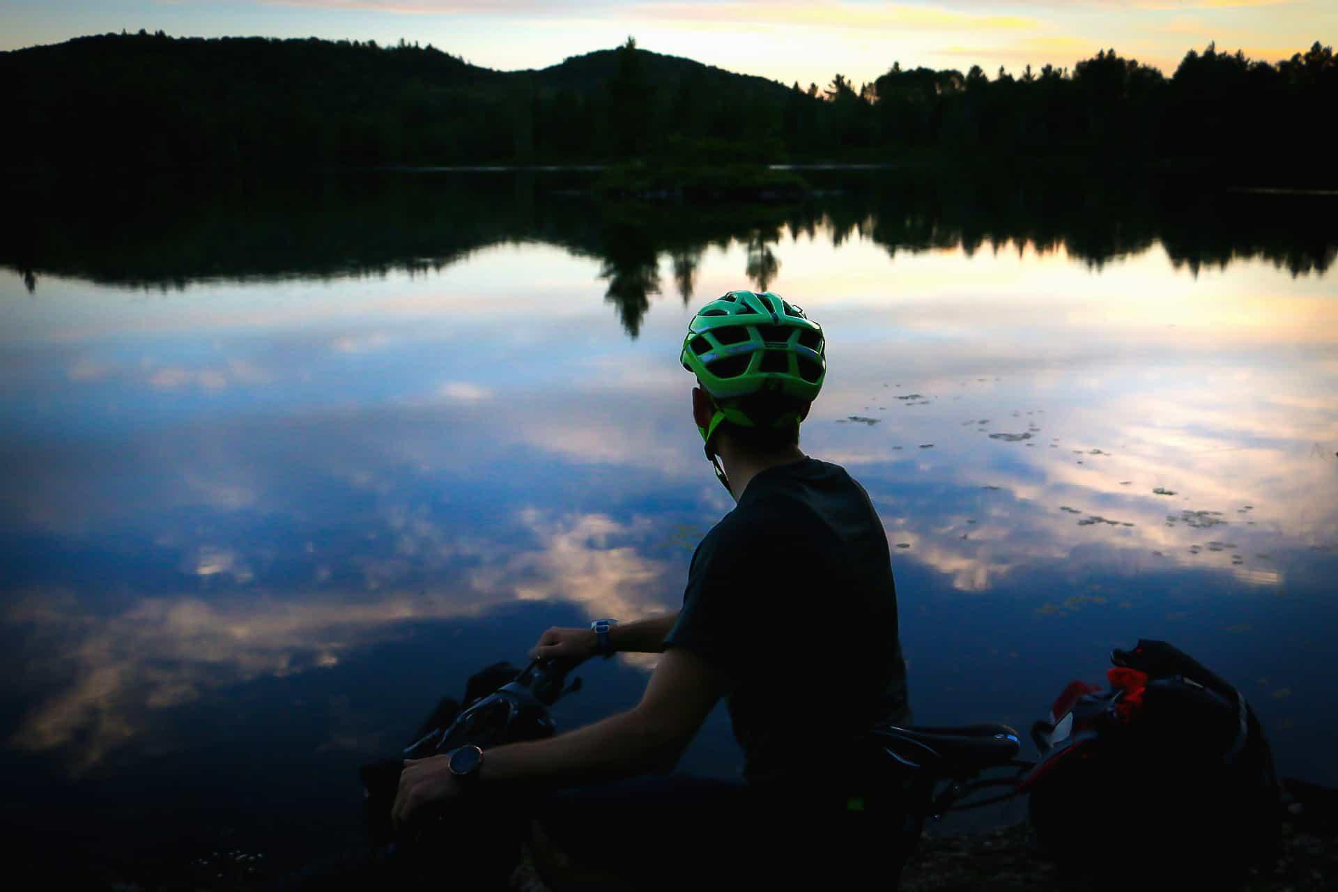 bikepacking panorama foret ouareau