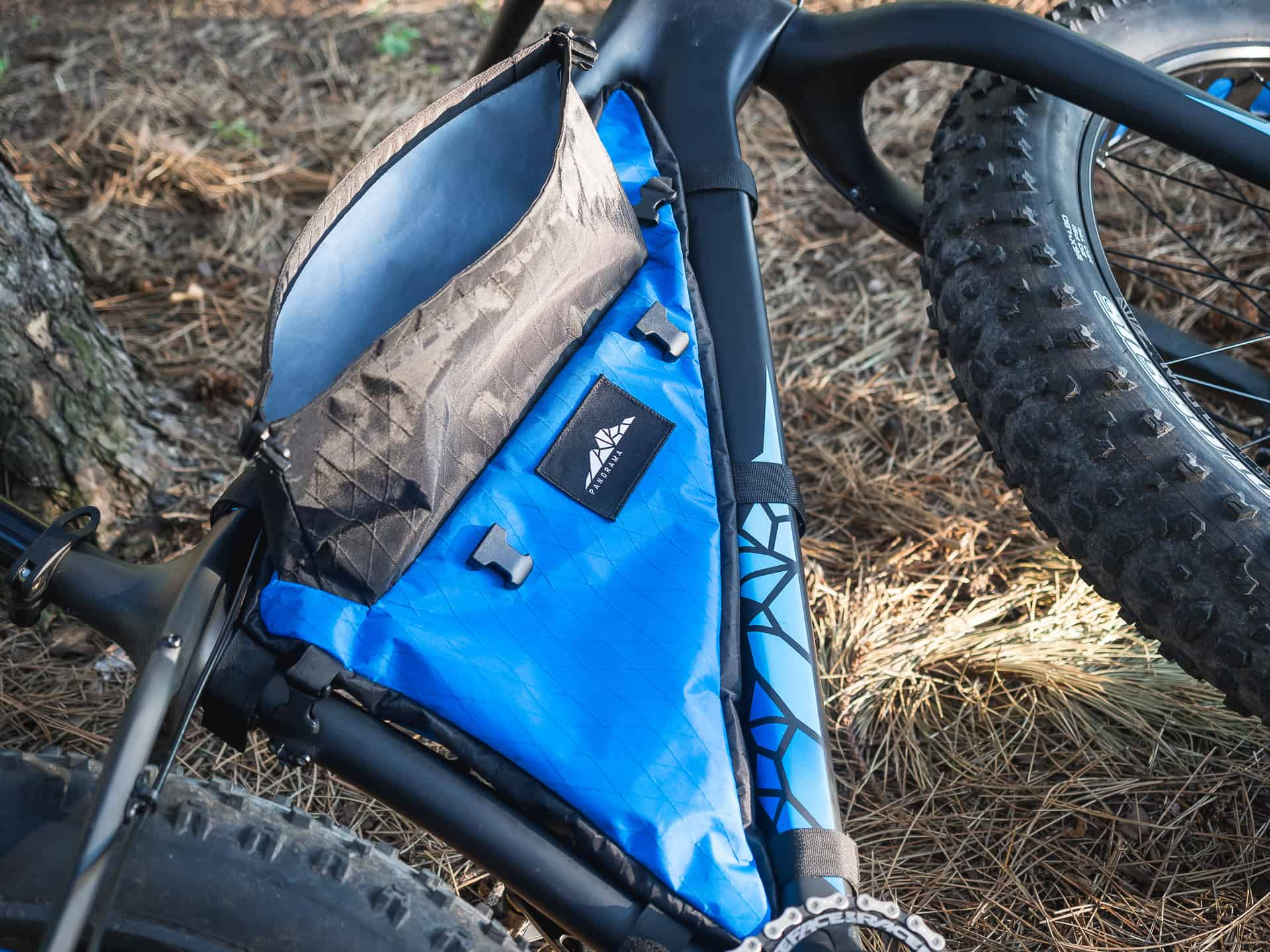 Panorama roll-top bikepacking Frame Bag