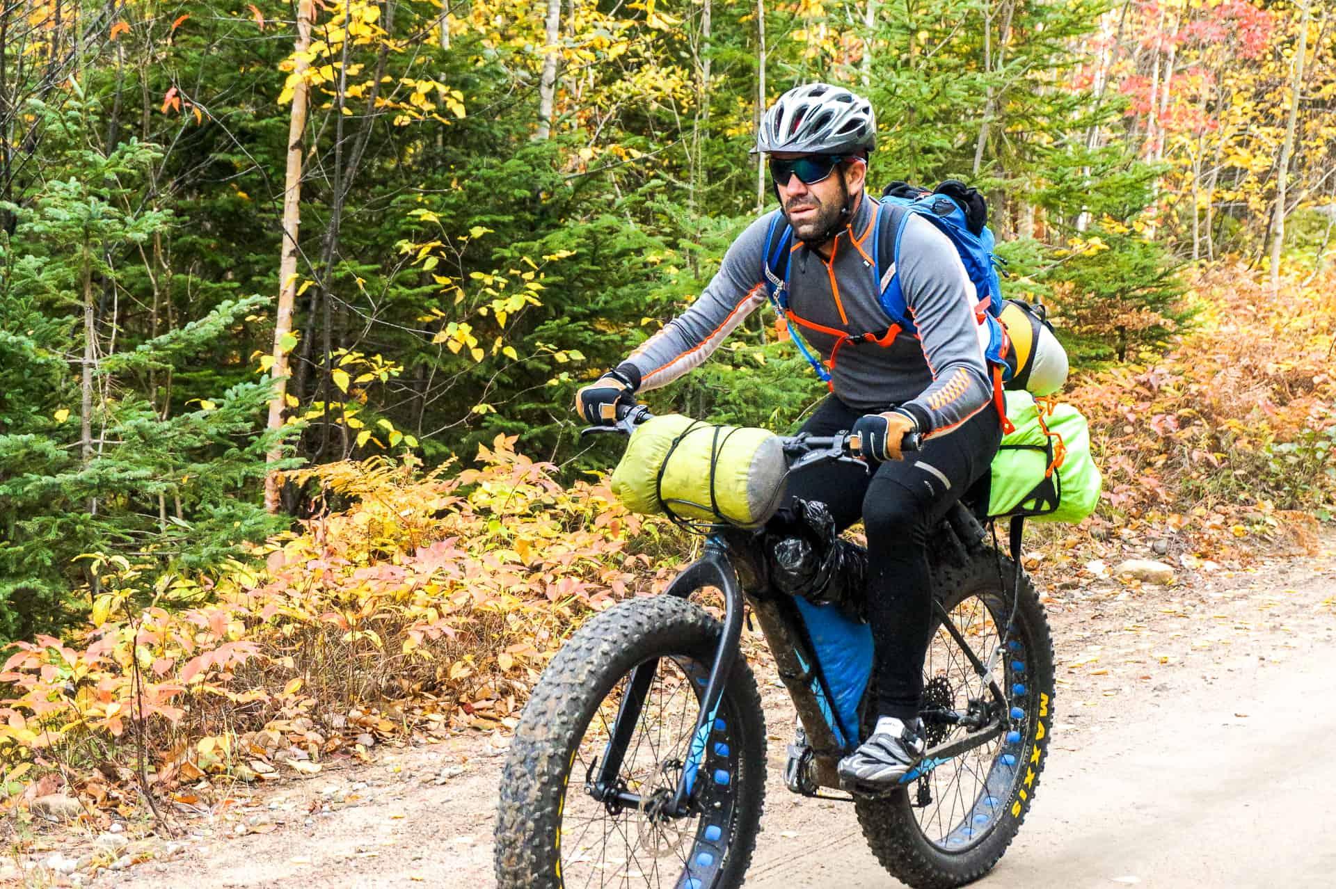 bikepacking anse-st-jean