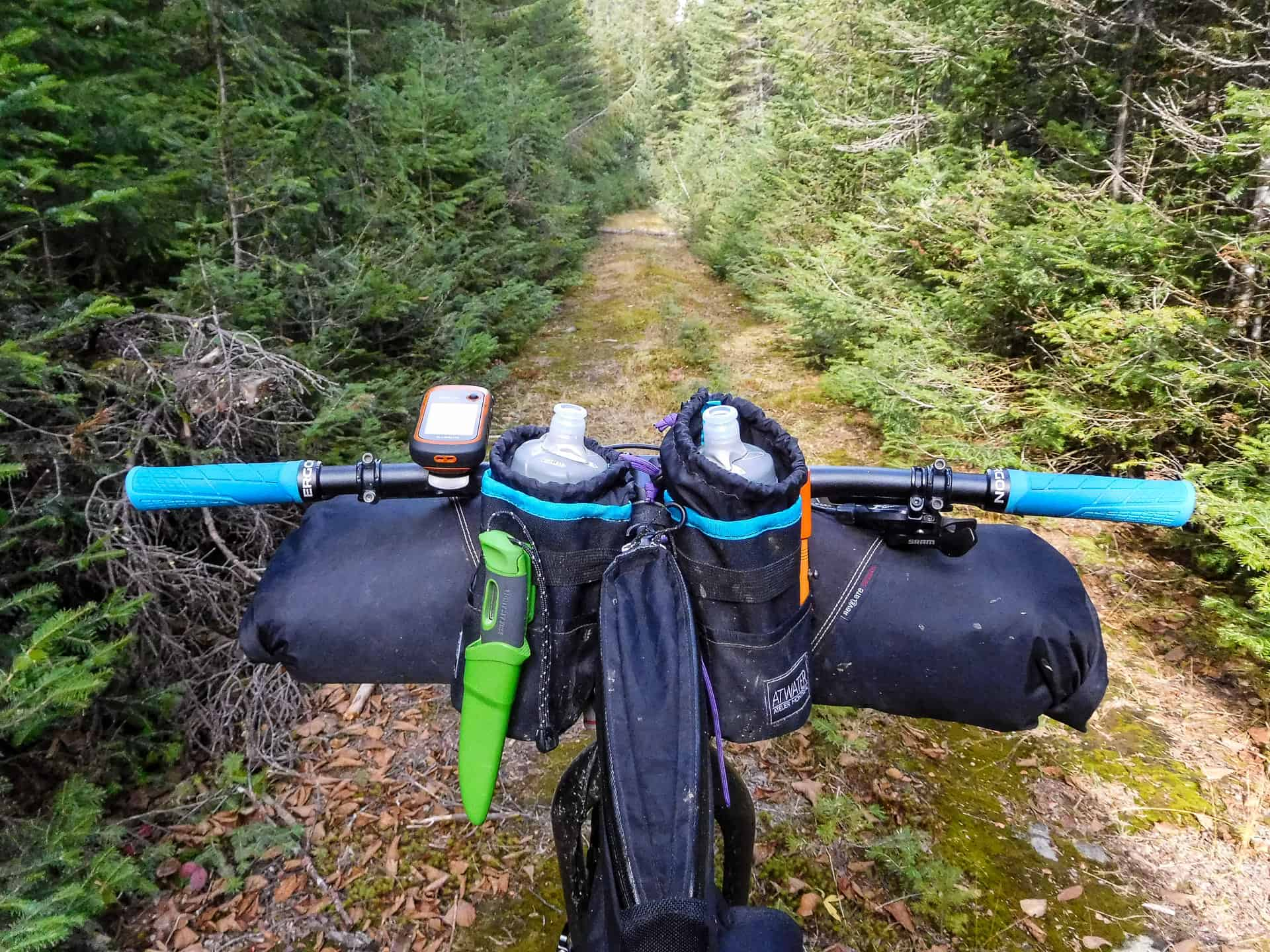 bikepacking jacques-cartier