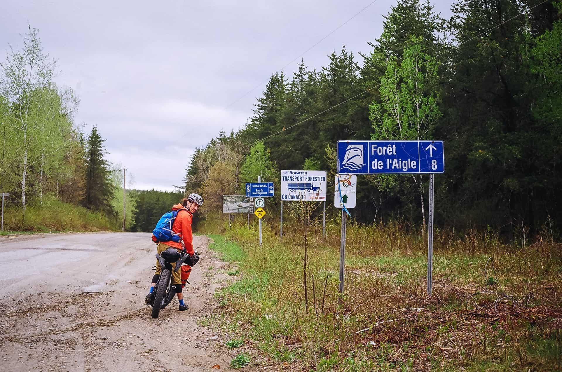 panorama bikepacking