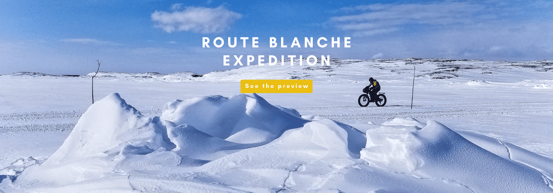 expedition route blanche panorama